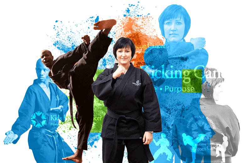 Do you have what it takes to become a Kids Kicking Cancer certified martial arts therapist?